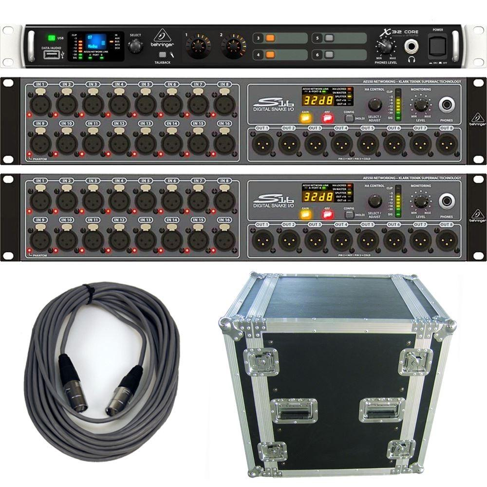 behringer x32 core 2xs16 case audio interfaces studio gear studiospares. Black Bedroom Furniture Sets. Home Design Ideas