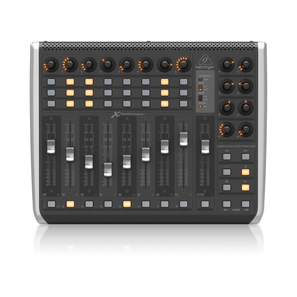 behringer x touch compact usb midi controller midi controllers studio gear studiospares. Black Bedroom Furniture Sets. Home Design Ideas