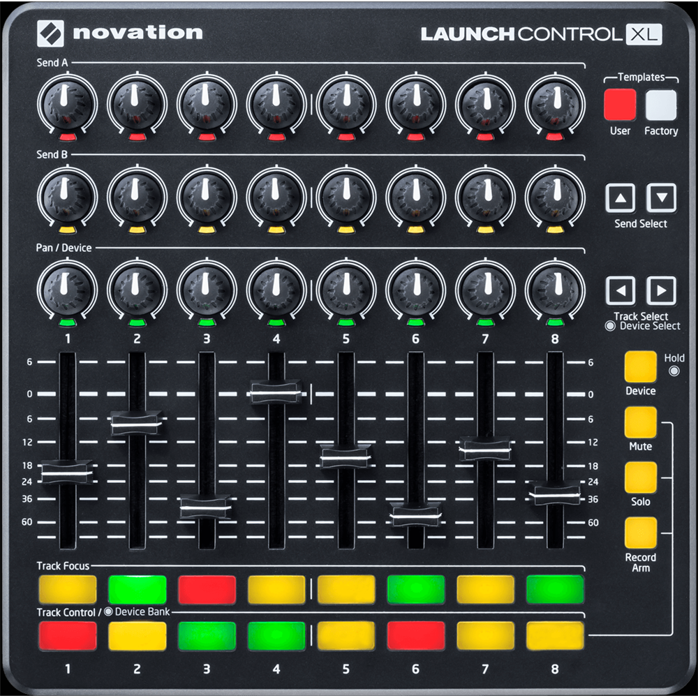 novation launch control xl mkii midi controllers studio gear studiospares. Black Bedroom Furniture Sets. Home Design Ideas