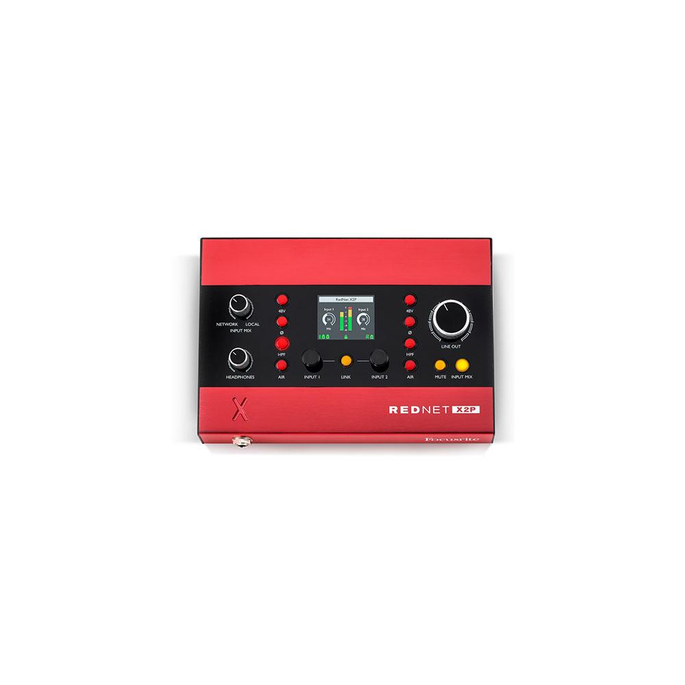 Focusrite Rednet X2P Interface Headphone Amp