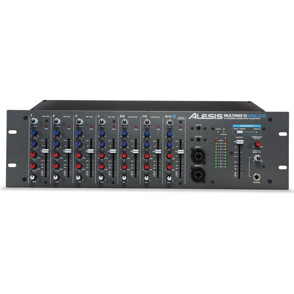Alesis Multimix 10 Wireless Analogue Mixers Studio Gear Simple Microphone Basics Of Circuit Youtube