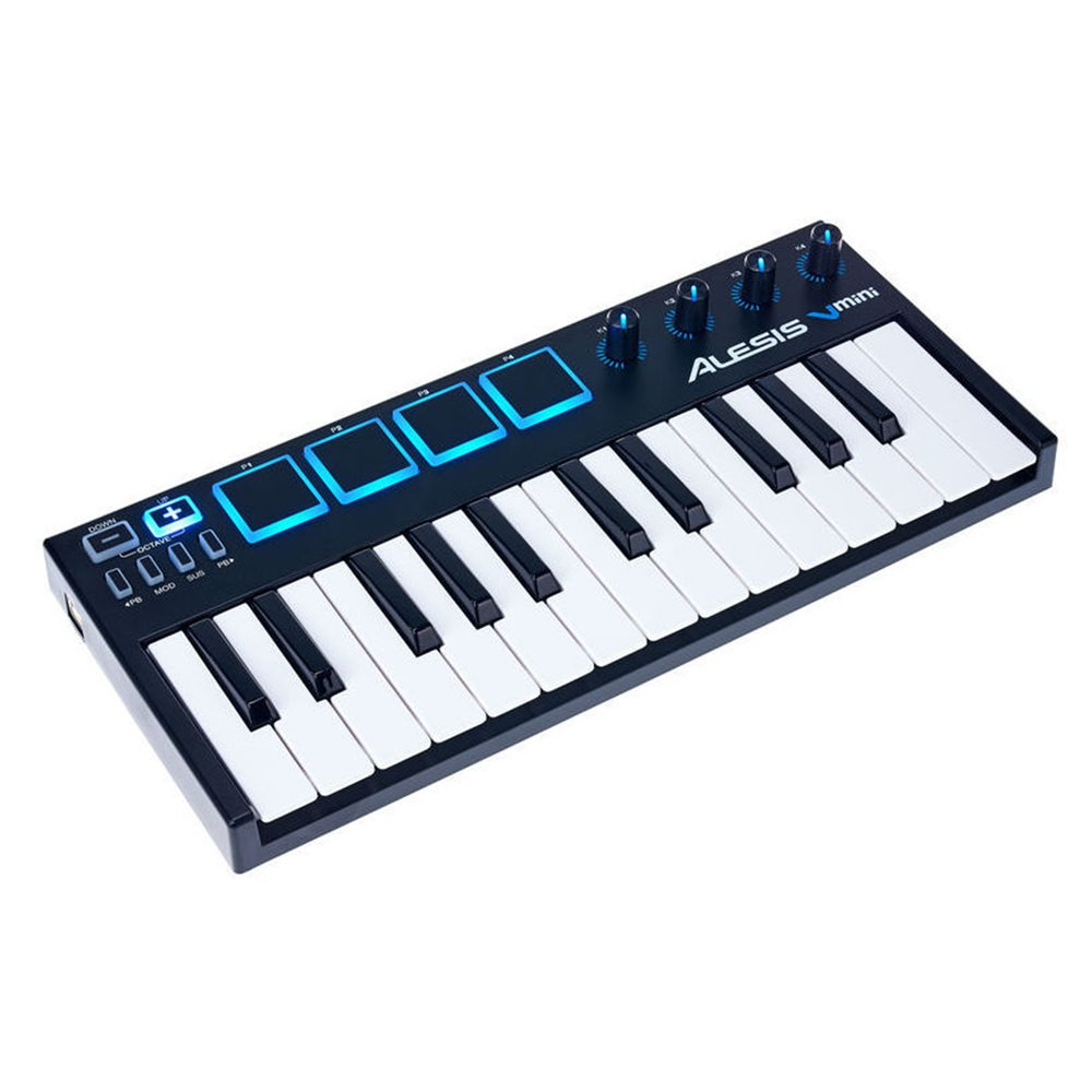alesis v mini usb midi keyboard midi controllers studio gear studiospares. Black Bedroom Furniture Sets. Home Design Ideas