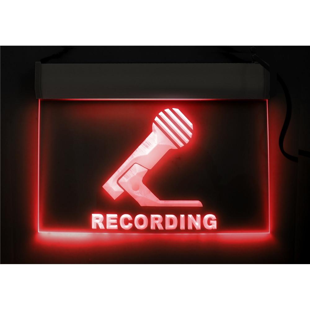 Recording Studio Sign Light - Specialised Broadcast