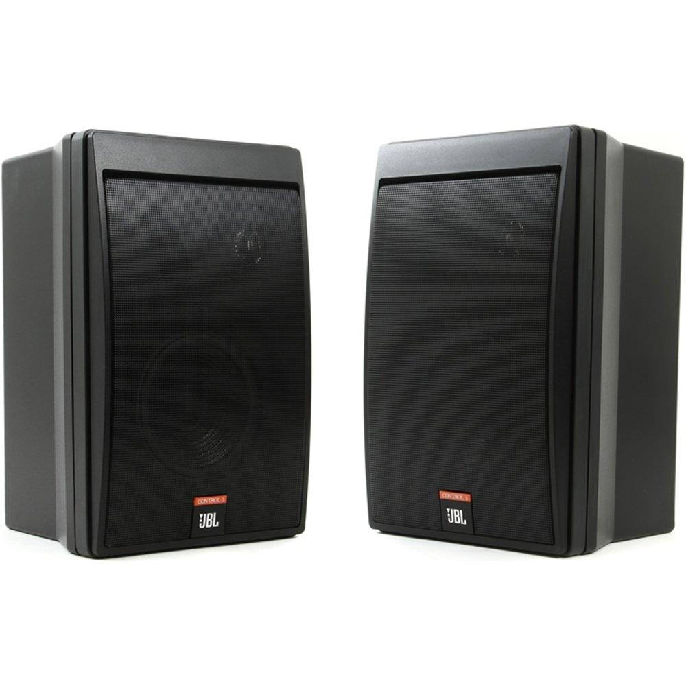 JBL Control 5 Speakers Black