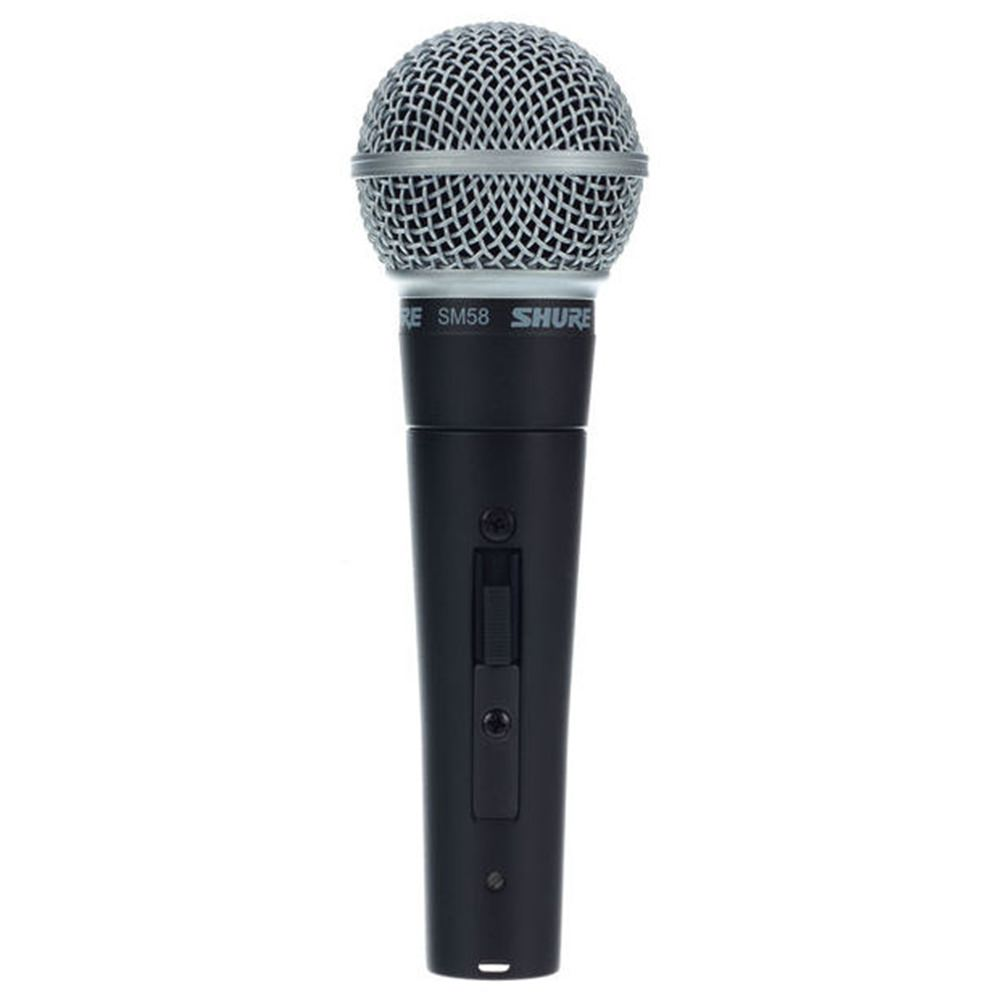 shure sm58s dynamic mic w switch vocal microphones microphones studiospares. Black Bedroom Furniture Sets. Home Design Ideas