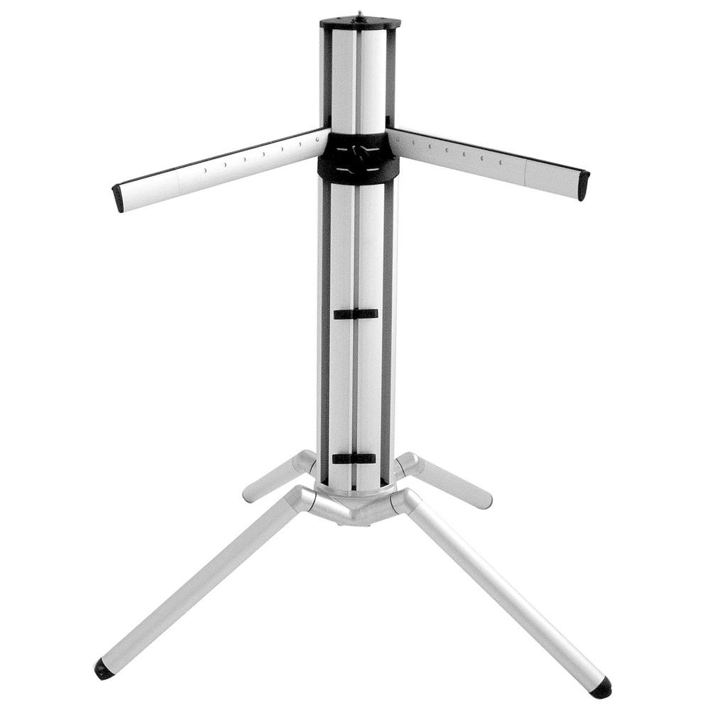 k m 18840 baby spider pro keyboard stand silver keyboard stands accessories studiospares. Black Bedroom Furniture Sets. Home Design Ideas