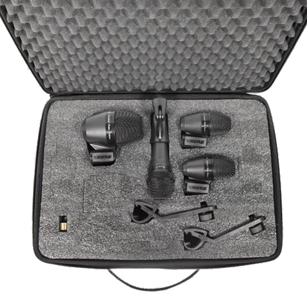 shure pga drumkit4 essential drum mic pack studiospares. Black Bedroom Furniture Sets. Home Design Ideas