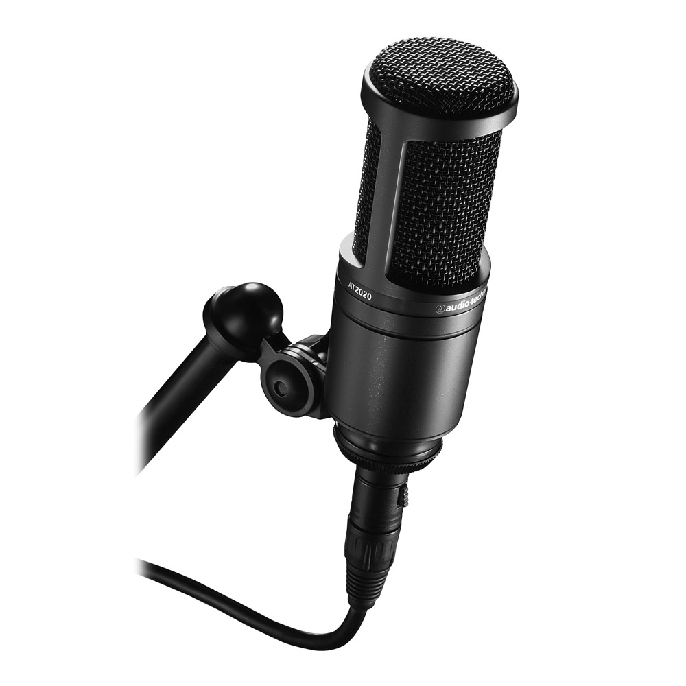 audio technica at2020 condenser mic condenser mics microphones studiospares. Black Bedroom Furniture Sets. Home Design Ideas