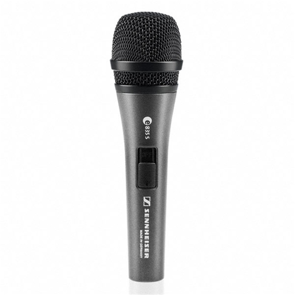 sennheiser e835s dynamic mic w switch studiospares. Black Bedroom Furniture Sets. Home Design Ideas