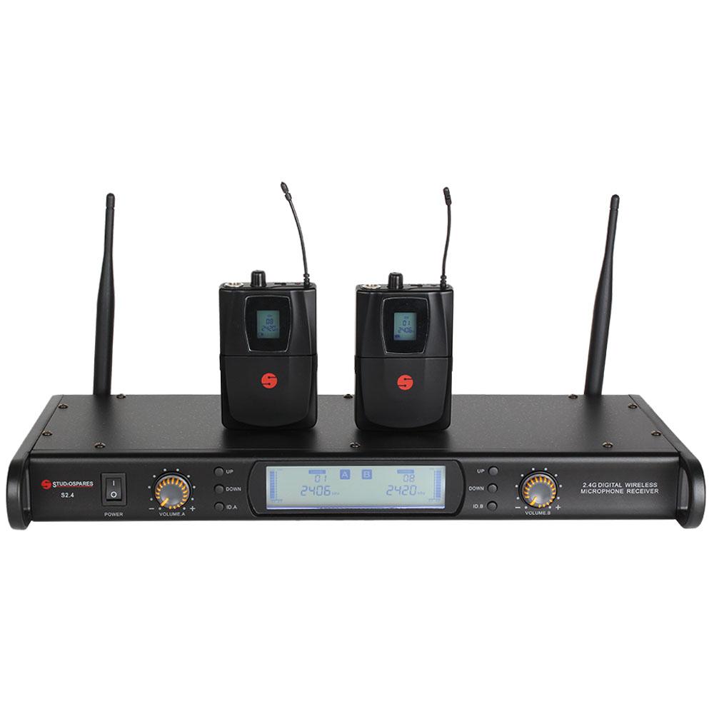 Studiospares 2.4GHz Dual Lavalier Wireless System