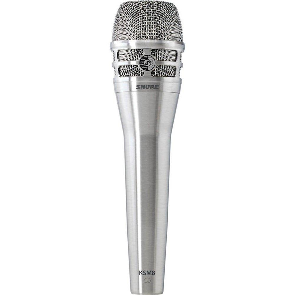 shure ksm8 handheld dynamic mic nickel vocal microphones microphones studiospares. Black Bedroom Furniture Sets. Home Design Ideas