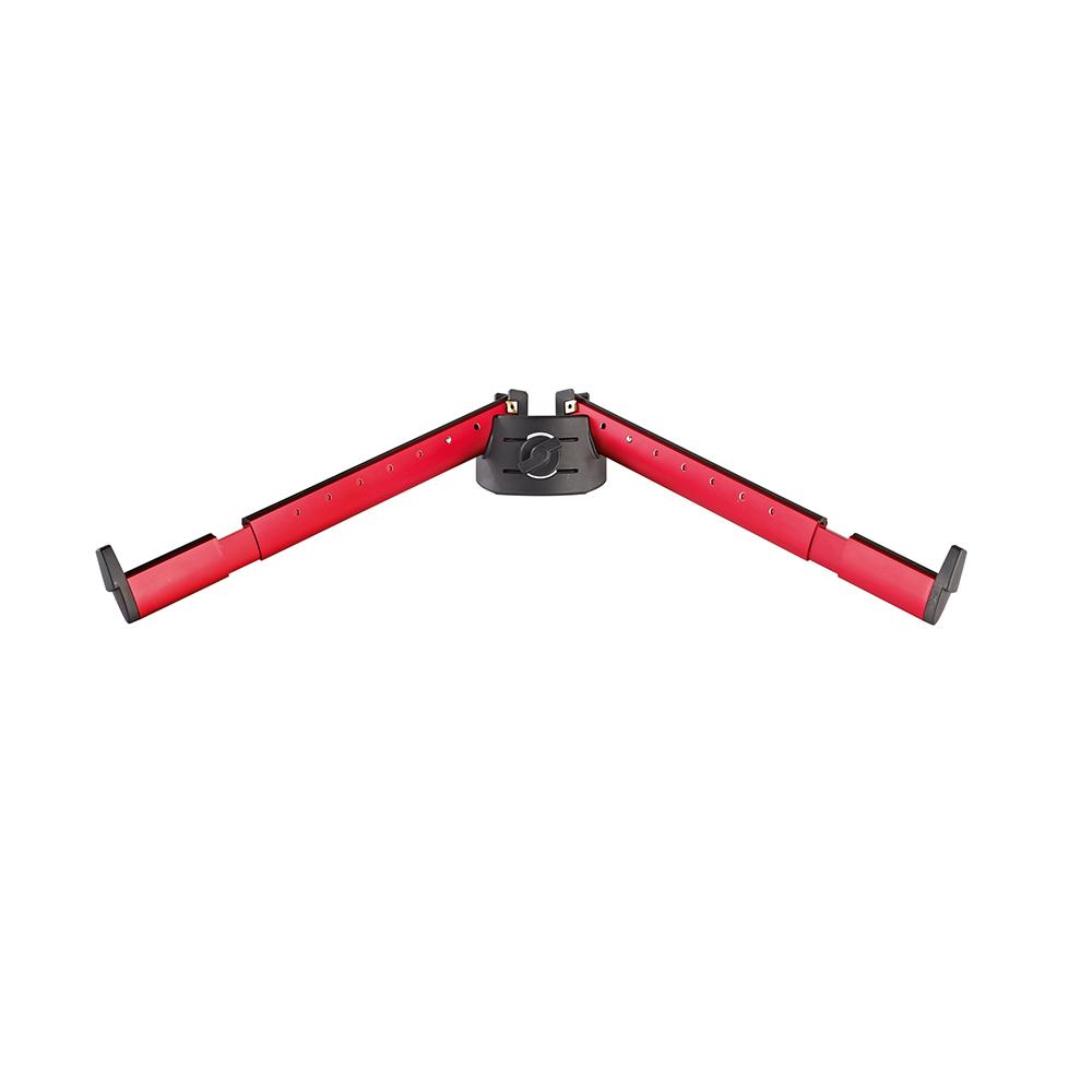 k m 18866 spider pro red support arm set b keyboard stands accessories studiospares. Black Bedroom Furniture Sets. Home Design Ideas