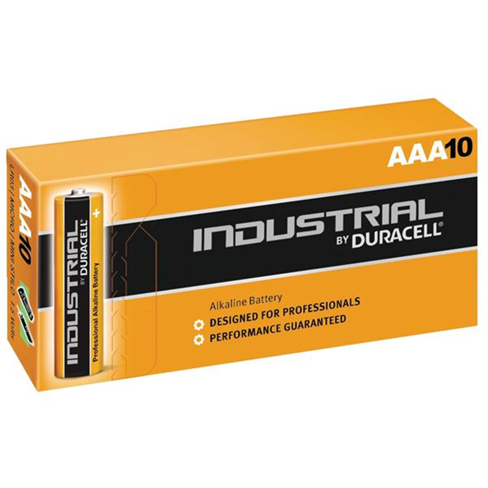 Duracell AAA Industrial 10-Pack Batteries - Service