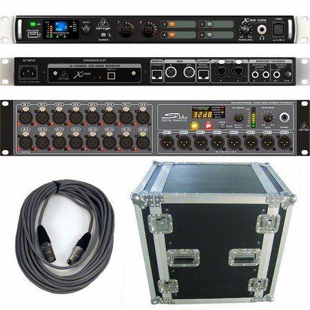 behringer x32 core s16 case audio interfaces studio gear studiospares. Black Bedroom Furniture Sets. Home Design Ideas