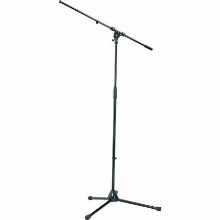 K&M 21020 Mic Stand and Boom Black