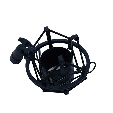Mic Shock Mount / Elastic Suspension (Black)