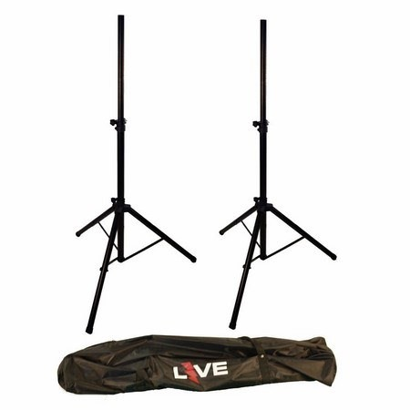 LIVE PA Speaker Stand Pair with Bag