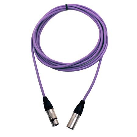 Pro Neutrik XLR Cable 5m Violet