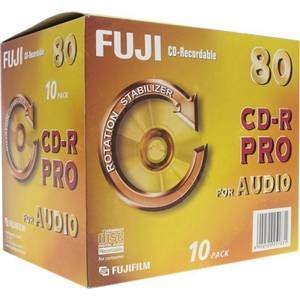 FUJI CD-R AUDIO (80min/10-PACK)