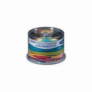 HHB CDR80 Thermal Printable CD-R (50-Pack Cakebox)