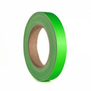 Monacor Gaffer Tape 19mm Neon Green