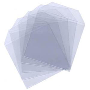 Plastic CD Wallets 100-Pack