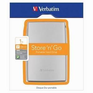 """Verbatim 1TB 2.5"""" USB Hard Disk Drive"""