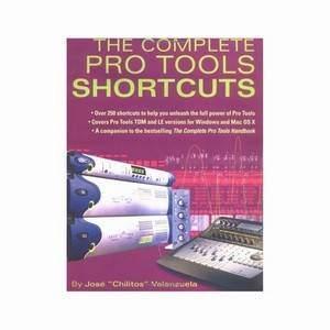 Complete Protools Shortcuts