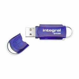 Integral Courier USB2 64GB Flash Drive