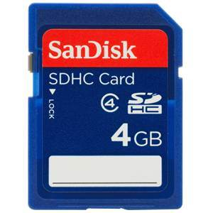 Integral SDHC Card 4Gb Class 10