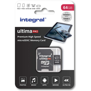 Integral Micro SDXC Card 64GB