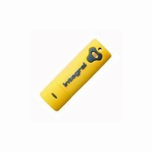 Integral Splash 8GB Yellow USB 2.0 Pen Drive