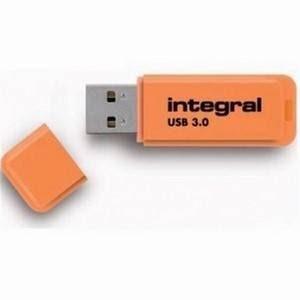 Integral Neon 32GB USB3.0 Orange Pen Drive