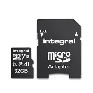 Integral MicroSDHC 32GB Class 10 100mb/s