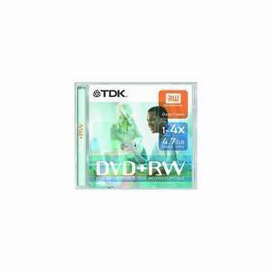TDK DVD+Rw4.7Gb X10 Gen.Purpose