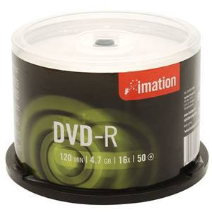IMATION DVD-R4.7 x50 CAKEBOX