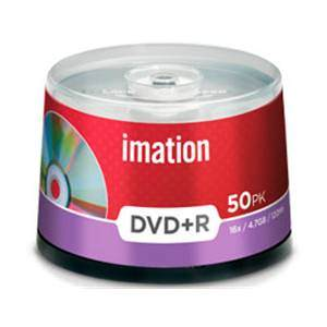 IMATION DVD+R 4.7 x50 CAKEBOX