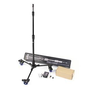 Triad-Orbit T3C Tripod Mic Stand with Wheels