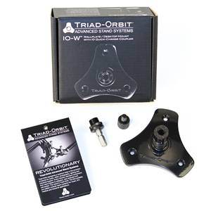 Triad-Orbit IO-W Wall Plate Quick Change Coupler Head