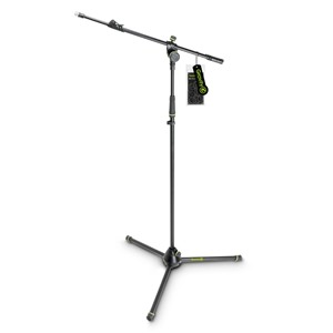 Gravity GMS4322B Mic Stand with Telescopic boom