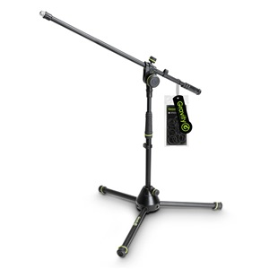 Gravity GMS4221B Short Mic Stand with Boom