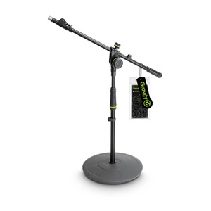 Gravity MS2222B Short Mic Stand with Telescopic Boom