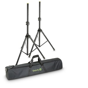 Gravity GSS5211BSET1 Speaker Stands pair with Bag