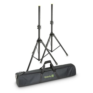 Gravity SS5212BSET1 Speaker Stands pair with Bag