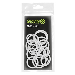 Gravity Universal Ring Pack White