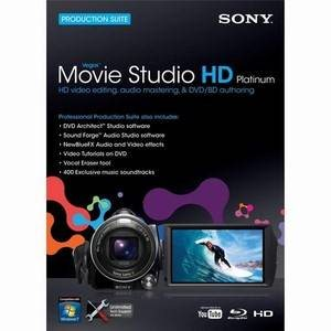 Sony Vegas Movie Studio 9 Platinum Educational