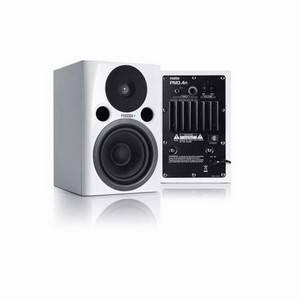 Fostex PM04d Studio Monitors White