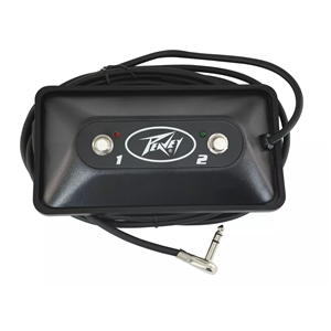Peavey Multi-purpose Footswitch 2 Button LED