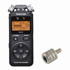 Tascam DR05 & Mic Stand Adaptor