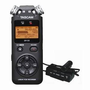 Tascam DR05 & Lapel Microphone